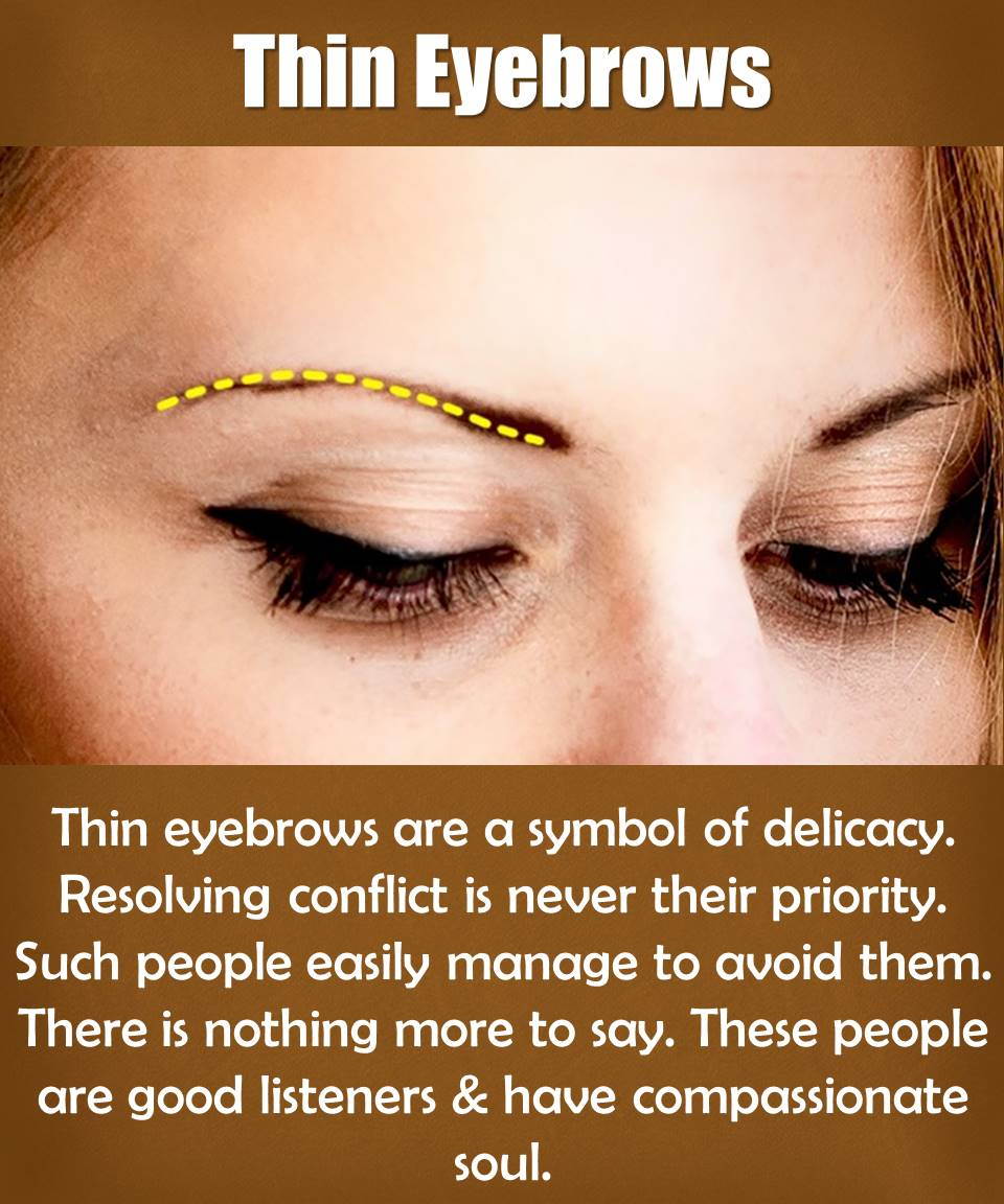 what eyebrows say