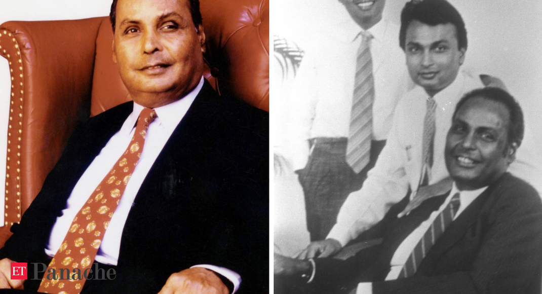 On Dhirubhai Ambani's Birth Anniversary, Rewinding The Clock To Rare Pictures Of The Tycoon - Life In Pictures | The Economic Times