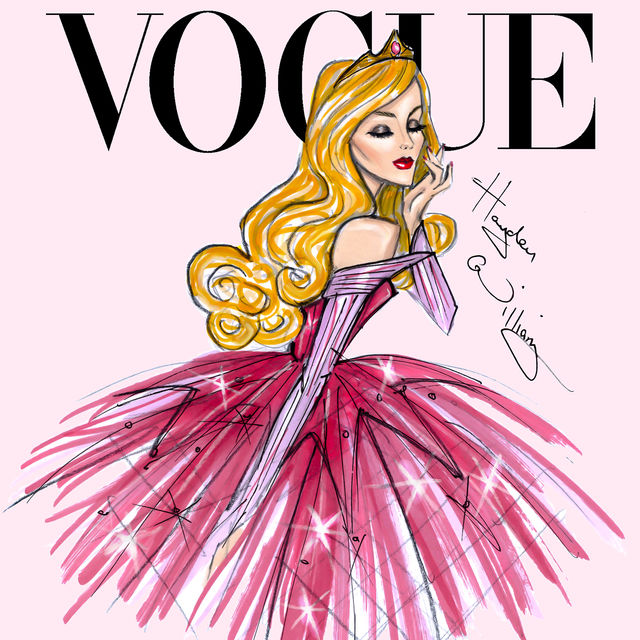 This Is What Disney Princess Would Look Like As Vogue Cover Models3