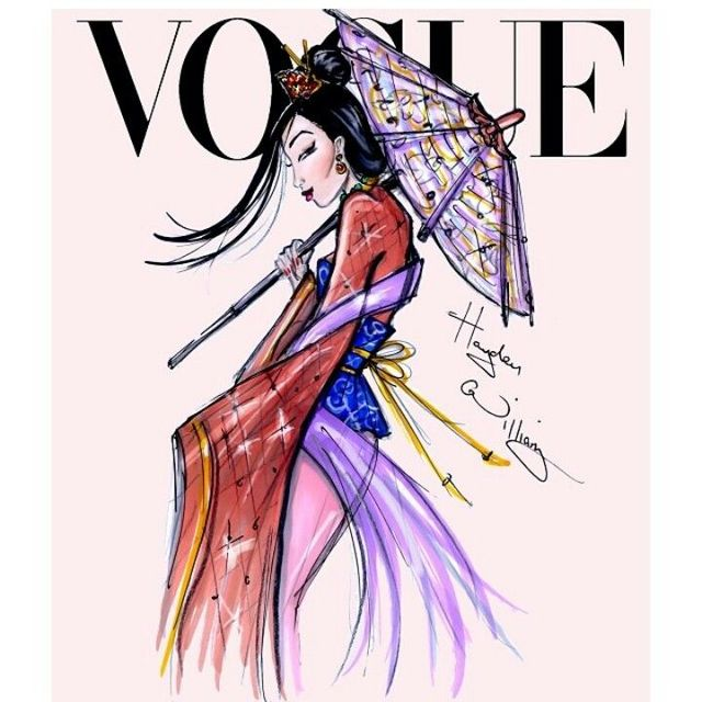 This Is What Disney Princess Would Look Like As Vogue Cover Models33