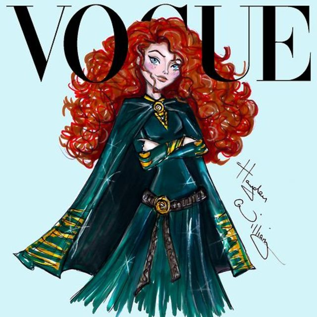 This Is What Disney Princess Would Look Like As Vogue Cover Models6