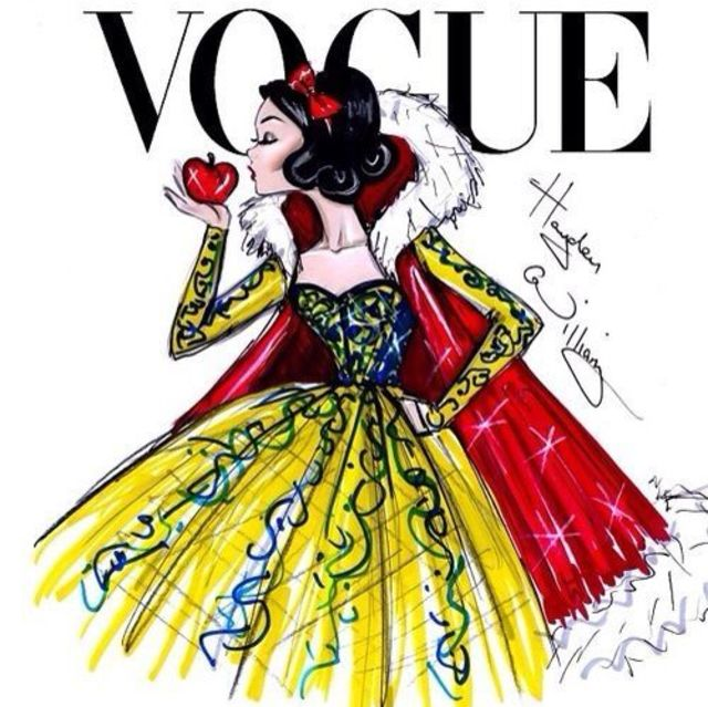 This Is What Disney Princess Would Look Like As Vogue Cover Models7
